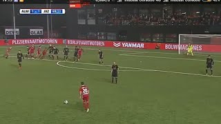 Goal Ezra Wiliam di club Almere dalam liga Jupiler league