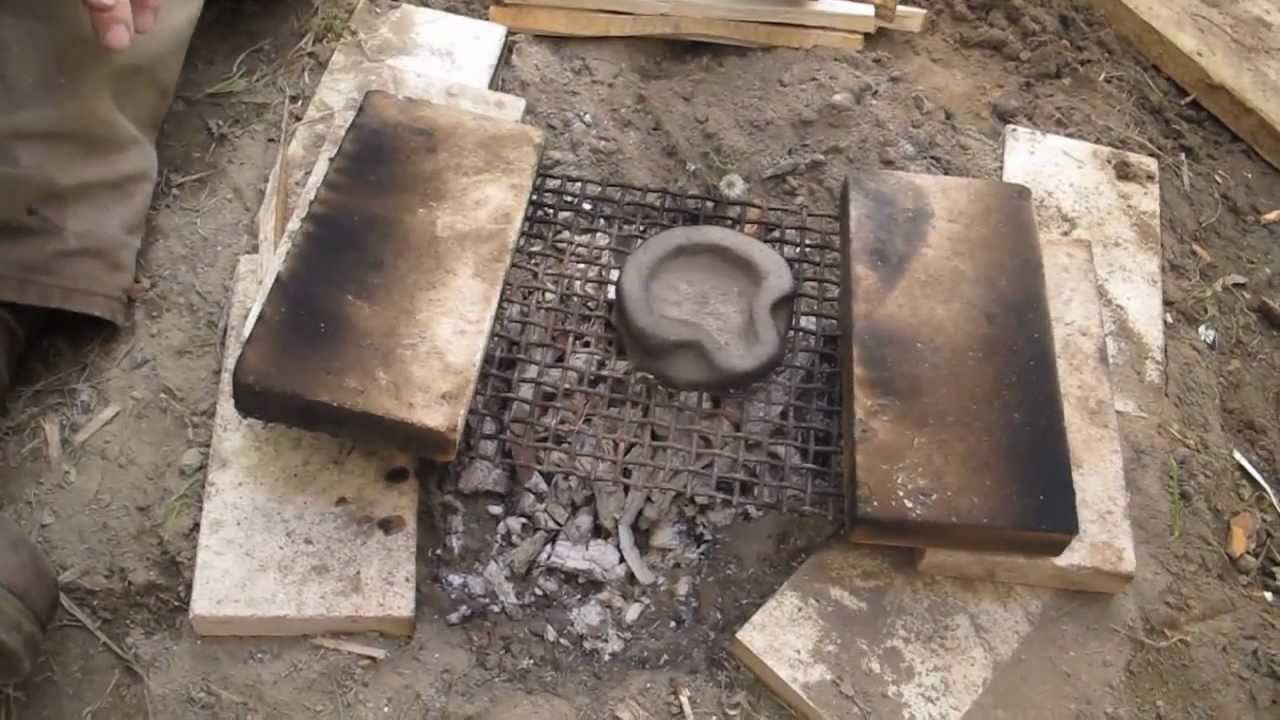 how to make an oil lamp out of clay