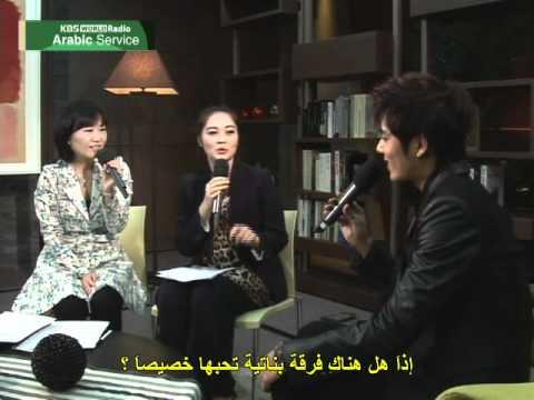 KBS WORLD Radio Arabic Interview with Kim Kyu Jong