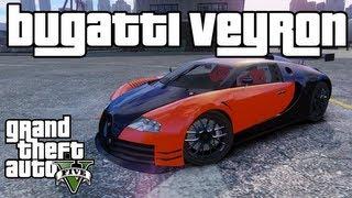 gta 5 how to get the bugatti veyron car hidden car fastest car in gta 5