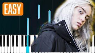 Billie Eilish - 8 (100% EASY PIANO TUTORIAL)