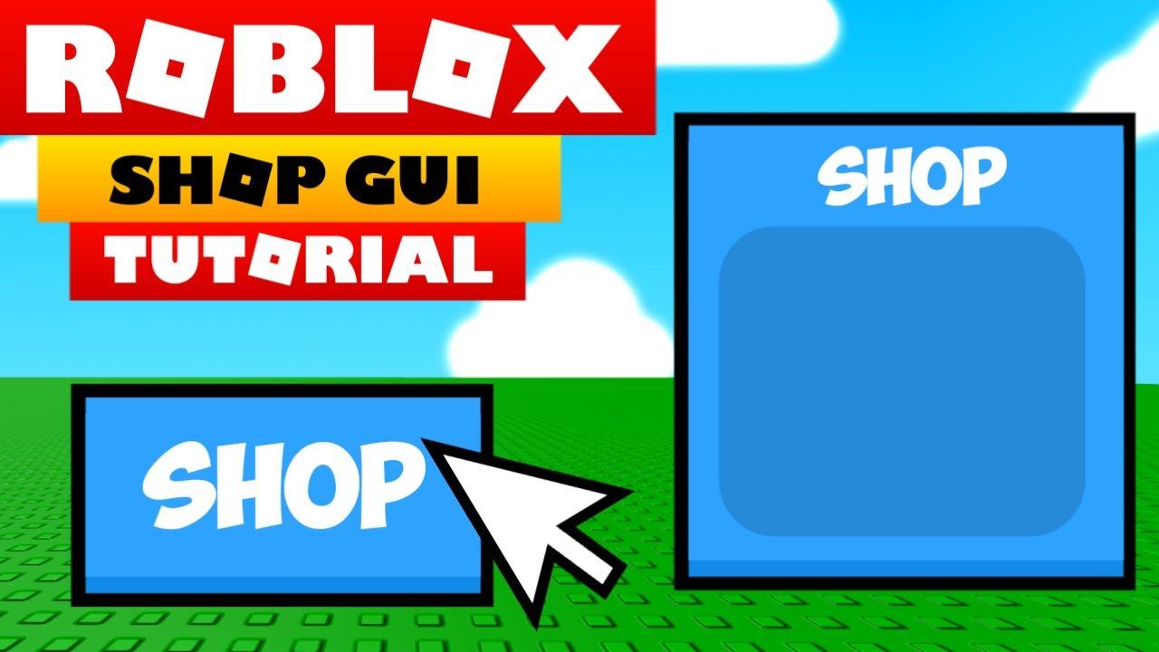 Roblox Shop Gui Script Roblox Studio Tutorial How To Make A Working Shop Gui Youtube