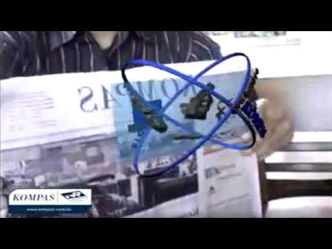 Augmented Reality Indonesia - Kompas Newspaper