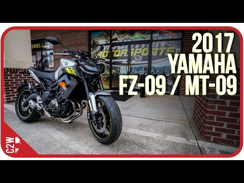 2017 Yamaha FZ-09 / MT-09 | First Ride