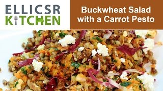 Buckwheat Salad With A Carrot Pesto