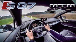 Audi SQ7 MTM 4.0 V8 TriTurbo 505 HP Test Drive