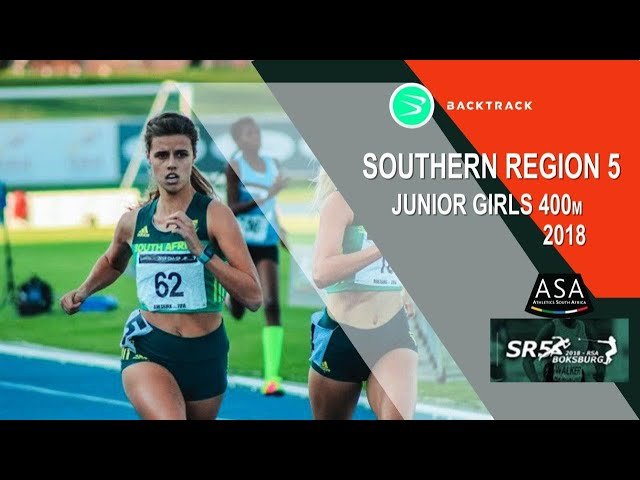 u20 Women Viljoen and Gibbon square off in 400m for Southern Region title