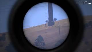 Arma 3- 2 km sniper headshot tutorial/ English and Türkçe