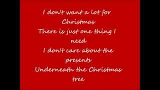 All I Want For Christmas Is You by Mariah Carey (lyrics)