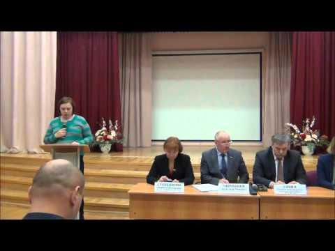 Встреча главы управы района Марьино А. А. Савина с населением 18.11.2015 года