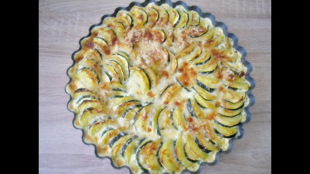 rezept kartoffel zucchini gratin selber machen ganz einfach und super lecker youtube. Black Bedroom Furniture Sets. Home Design Ideas