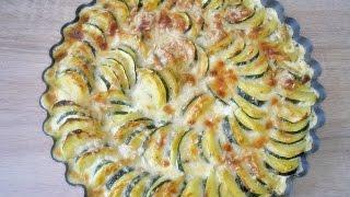 Rezept: Kartoffel-Zucchini-Gratin selber machen / ganz einfach und super lecker