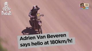 Stage 2 - Top moment: Van Beveren at 180km/h - Dakar 2017