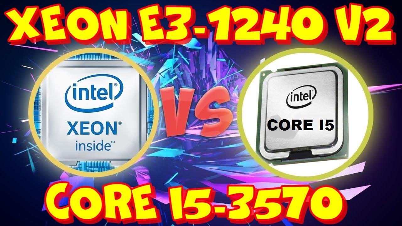 Лучший процессор на сокет 1155 - xeon E3 1240 v2. Обзор и тестирование.