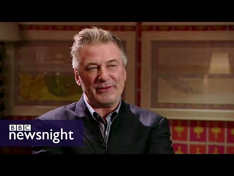 Alec Baldwin on Donald Trump and his new parody presidential memoir - BBC Newsnight