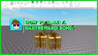 ROBLOX: How to Make a Daily Bonus Reward!