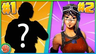 TOP 10 RAREST SKINS DEL 2019!! -Fortnite: Battaglia Reale