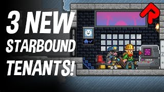 New Starbound 1.4 Tenants ! (Peacekeeper, Egyptian, Office) | Let's play Starbound 2019