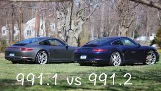 Porsche 911 991.1 vs 991.2 engine sound and performance