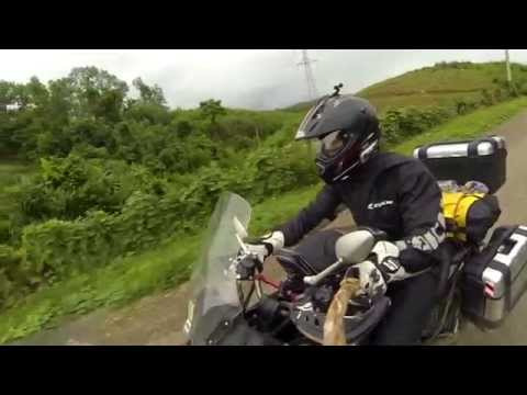 Versys 650 : เที่ยวลาว หน้าฝน One guy One Bike : 5 days in laos
