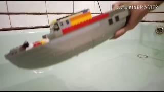лего lego корабли на воде