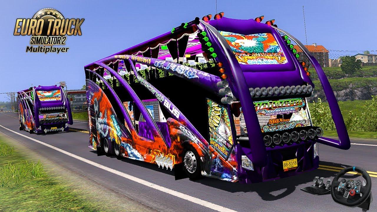 รถทัวร์ท่องเที่ยว ป๋านิคการช่าง Euro Truck Simulator 2|G29|(NOTE NUENG)