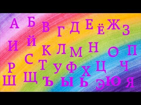 Развивающий мультик - Алфавит (все серии)