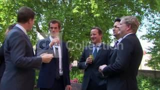 WIMBLEDON CHAMP MURRAY-INTERIOR MEETING WITH PM