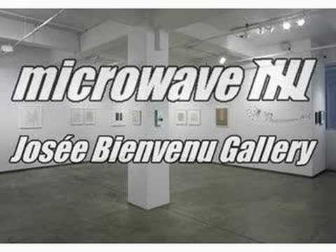 """microwave 5"" at Josée Bienvenu Gallery - July 12, 2007"
