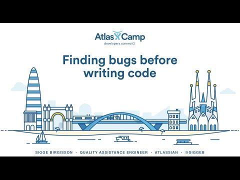 Finding bugs before writing code - Sigge Birgisson