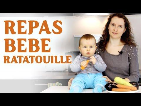 repas-bÉbÉ-fait-maison-🥕-ratatouille-|-homemade-baby-food