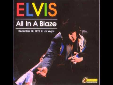 Elvis Presley - All In A Blaze - December 12 1975 Full Album