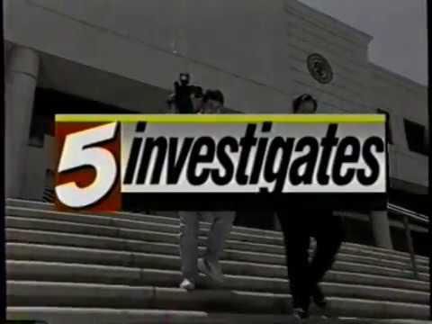 1996 KPHO Channel 5 Investigates News promo
