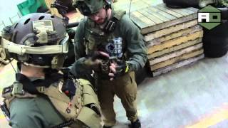 Airsoft War (HD) Airsoft Obsessed Dave at CQB City Stockton CA Dec 2013