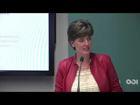 Keynote- Marie-Claude Bibeau, Minister of International Development, Canada