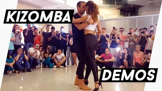 After Class Demo - KizzAfro 2016 - Kristofer & Kristina - Kizomba Fusion - Moscow, Russia