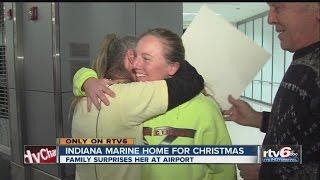 Hoosier Marine gets surprise homecoming