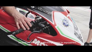 Ayrton Badovini interview - The dream to represent MV Agusta
