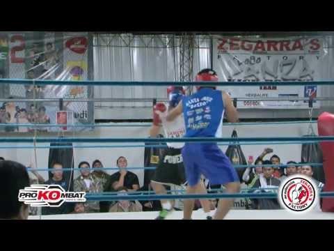 FERNANDO LANZA vs CESAR SUAREZ ROUND 1