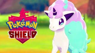 Pokémon Shield - Meet Galarian Ponyta Gameplay Trailer