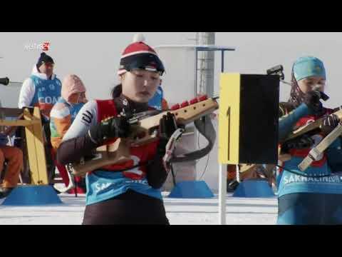 Дети Азии: Биатлон/ Смешанная эстафета 1дх4500 м и 1юх6000 м