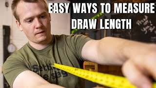 """3 Ways To """"MEASURE DRAW LENGTH"""" -- Recurve Bow -- Longbow -- Traditional bow + """"BOW GIVEAWAY"""""""