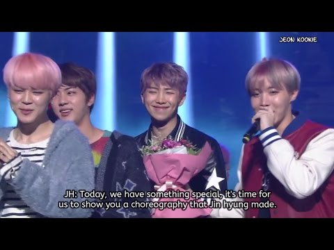 [ENG SUB] BTS 1st Place Win + Encore - KBS Music Bank (170224)