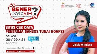Episode 12: Bener Gak Sih? Situs Cek Data Penerima Bansos Tunai Hoaks?