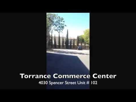 For Lease – Torrance Commerce Center 5030 Spencer Street Torrance, CA Unit # 102