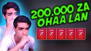 200 BİN ZA İLE DESTE AÇTIM SULTAN EFSANE ÇIKTI !!  ZULA