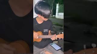 Jaga mata jaga hati - Dj Qhelfin cover ukulele dhiemas njis BAPERR!!