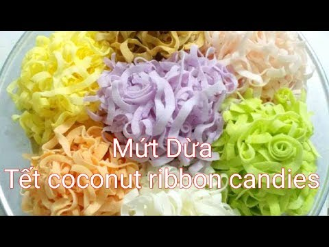 Mut dua non - expressed coconut candy