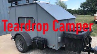 Small Camper Trailer-Homebuilt