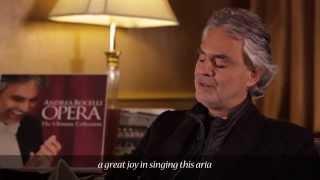 Andrea Bocelli - AU FOND DU TEMPLE SAINT - Les pêcheurs de perles (Commentary)